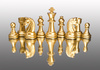 chess figures - photo/picture definition - chess figures word and phrase image