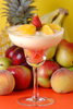 fruit yogurt - photo/picture definition - fruit yogurt word and phrase image