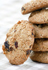 oatmeal cookies - photo/picture definition - oatmeal cookies word and phrase image