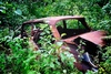 rusty wreck - photo/picture definition - rusty wreck word and phrase image