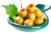 stuffed olives - photo/picture definition - stuffed olives word and phrase image