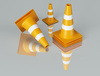 traffic cones - photo/picture definition - traffic cones word and phrase image