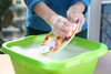 dishwashing - photo/picture definition - dishwashing word and phrase image