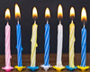 birthday candles - photo/picture definition - birthday candles word and phrase image