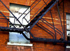fire escape - photo/picture definition - fire escape word and phrase image
