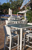 poolside tables - photo/picture definition - poolside tables word and phrase image