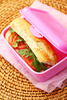 lunch box - photo/picture definition - lunch box word and phrase image