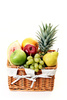 picnic basket - photo/picture definition - picnic basket word and phrase image