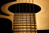 sound hole - photo/picture definition - sound hole word and phrase image