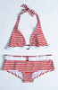 striped bikini - photo/picture definition - striped bikini word and phrase image
