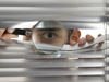 peeping - photo/picture definition - peeping word and phrase image