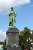 Pushkin monument - photo/picture definition - Pushkin monument word and phrase image