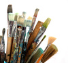paintbrushes - photo/picture definition - paintbrushes word and phrase image