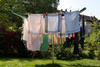clothes horse - photo/picture definition - clothes horse word and phrase image