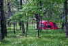 campsite - photo/picture definition - campsite word and phrase image