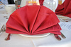 napkin fan - photo/picture definition - napkin fan word and phrase image