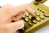 dialing - photo/picture definition - dialing word and phrase image