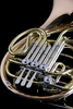 French horn - photo/picture definition - French horn word and phrase image