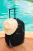 holiday suitcase - photo/picture definition - holiday suitcase word and phrase image