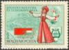Soviet Hungarian stamp - photo/picture definition - Soviet Hungarian stamp word and phrase image