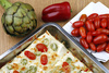vegetable lasagna - photo/picture definition - vegetable lasagna word and phrase image