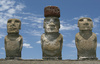 Easter island - photo/picture definition - Easter island word and phrase image