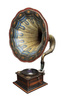 gramophone - photo/picture definition - gramophone word and phrase image