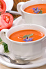 tomato soup - photo/picture definition - tomato soup word and phrase image