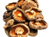dry shiitake mushroom - photo/picture definition - dry shiitake mushroom word and phrase image