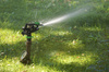 lawn sprinkler - photo/picture definition - lawn sprinkler word and phrase image