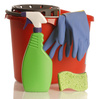 cleaning supplies - photo/picture definition - cleaning supplies word and phrase image