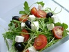 rucola salad - photo/picture definition - rucola salad word and phrase image