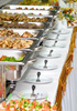 banquet trays - photo/picture definition - banquet trays word and phrase image