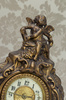 antique French clock - photo/picture definition - antique French clock word and phrase image