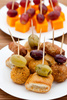 party snacks - photo/picture definition - party snacks word and phrase image
