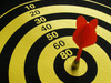 bulls eye - photo/picture definition - bulls eye word and phrase image
