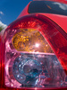 car tail light - photo/picture definition - car tail light word and phrase image