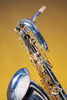baritone saxophone - photo/picture definition - baritone saxophone word and phrase image