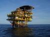 offshore drilling platform - photo/picture definition - offshore drilling platform word and phrase image