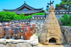Korean hut - photo/picture definition - Korean hut word and phrase image