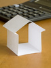 paper house - photo/picture definition - paper house word and phrase image