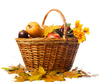 autumn basket - photo/picture definition - autumn basket word and phrase image
