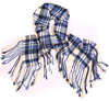 checkered scarf - photo/picture definition - checkered scarf word and phrase image