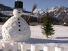 snowman - photo/picture definition - snowman word and phrase image