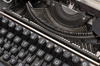 typewriter keypad - photo/picture definition - typewriter keypad word and phrase image