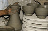 clay pottery - photo/picture definition - clay pottery word and phrase image
