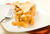 apple pie slice - photo/picture definition - apple pie slice word and phrase image