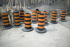 construction cones - photo/picture definition - construction cones word and phrase image
