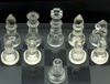 glass chess - photo/picture definition - glass chess word and phrase image
