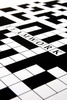 crossword puzzle - photo/picture definition - crossword puzzle word and phrase image